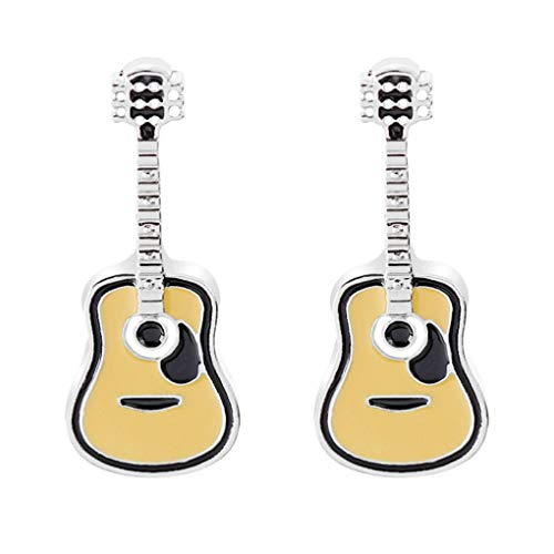 Charmart Guitar Lapel Pin 2 Piece Set Enamel Brooch Pins Suit Shirt Sweater Collar Backpack Accessories Badges - Guitar Lapel Pin