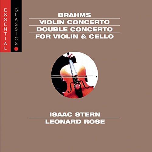 Brahms: Concerto for Violin / Double Concerto Violin & Violoncello (Essential Classics)