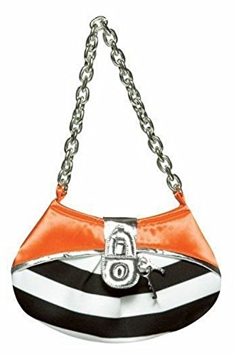 Rasta Imposta Prisoner Purse, Black/White, One Size (Prisoner Costume Ideas)
