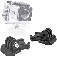 DURAGADGET Horizontal Surface Quick-Release Buckle Strap Mount - Compatible with the Eken H9 | H8 | H3 Action Cameras
