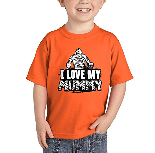 I Love My Mummy - Mommy - Halloween T-Shirt (Orange, 5T) for $<!--$11.90-->