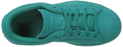 PUMA Unisex-Kids Suede Classic Badge, Navigate, 11.5 M US Little Kid