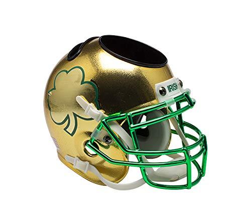 (Schutt NCAA Notre Dame Fighting Irish Unisex NCAA Notre Dame Fighting Irish Football Helmet Desk Caddyncaa Notre Dame Fighting Irish Football Helmet Desk Caddy, Shamrock Game Alt, N)