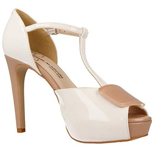 Marque Talon Talon Blanc Couleur Alarcón Chaussures blanco Blanc 16570 Modã¨le Ángel À xq4YwaxfR