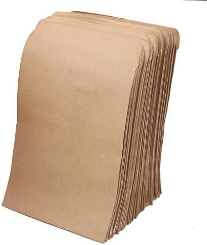 F Fityle 農業 ガーデニング用 クラフトペーパー製 のりづき 種子袋 100枚