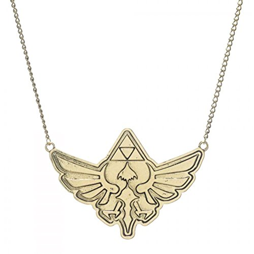 Legend Zelda Triforce Chain Necklace