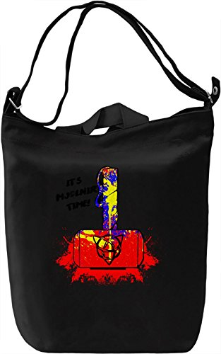It's Mjolnir Time Borsa Giornaliera Canvas Canvas Day Bag| 100% Premium Cotton Canvas| DTG Printing|