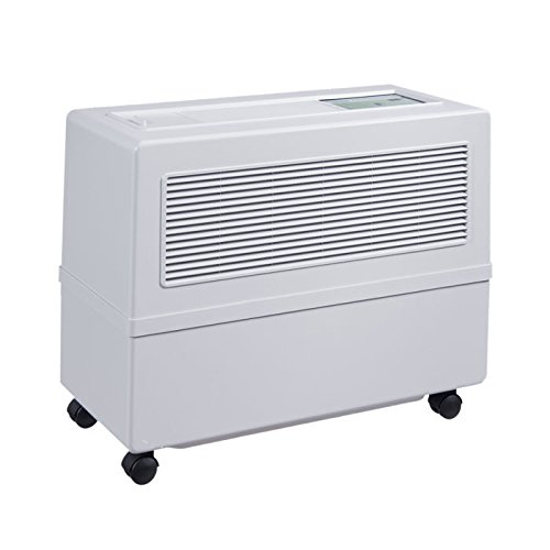 Brune Professional Evaporative Humidifier with UV-C Technology, White
