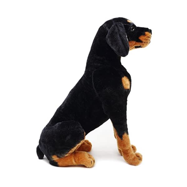 VIAHART Robbie The Rottweiler | 26 Inch Tall Stuffed Animal Plush Dog | Shipping from Texas | by Tiger Tale Toys 4