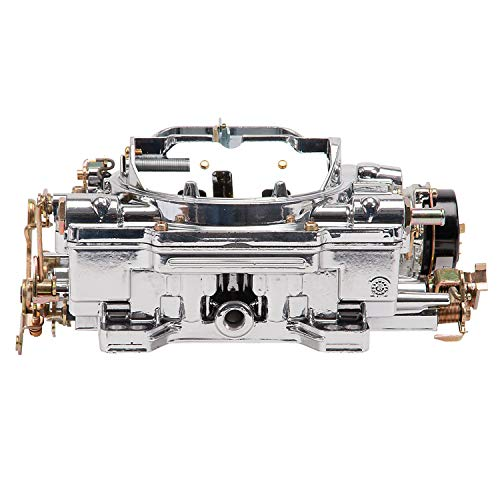 Edelbrock 19034 AVS2 Series Carburetor 500 cfm Square Flange Non-EGR Electric Choke Dual Quad Carb Endurashine Finish AVS2 Series - Quad Dual Edelbrock