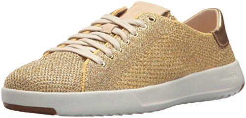 Cole Haan Women Grandpro Tennis Stitchlite Sneaker Metallic/Gold