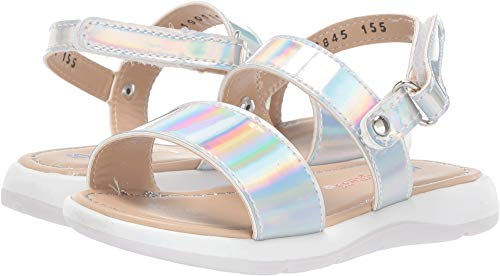 Kid Express Baby Girl's Giselle (Toddler) Silver Combo 25 M EU]()