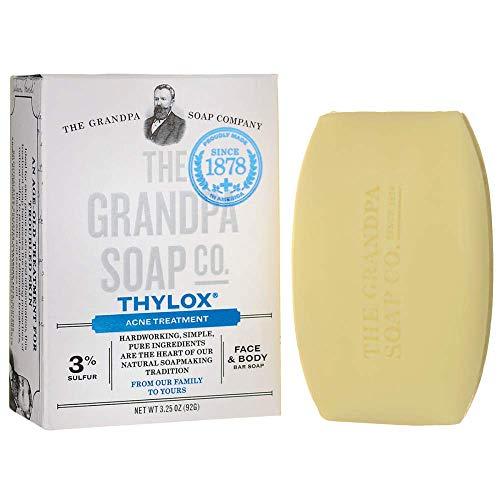Grandpas Thylox Acne Treatment Soap 3.25 ()