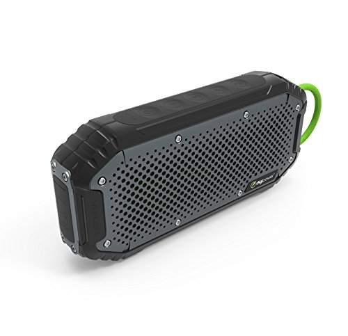 Digipower - 20Watt IP67 Waterproof Dustproof Bluetooth Speaker Powerbank with 4400mAh - Bass Boost Feature + 7 Hours of Play Time