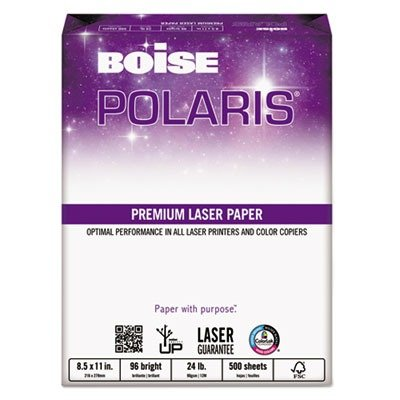 Boise Products - Boise - HD:P Presentation Laser Paper, 96 Brightness, 24lb, 8-1/2x11, White, 500/Ream - Sold As 1 Ream - Ensures optimum performance in color laser printers, color copiers and monochrome printers. - Engineered for superior toner adherence