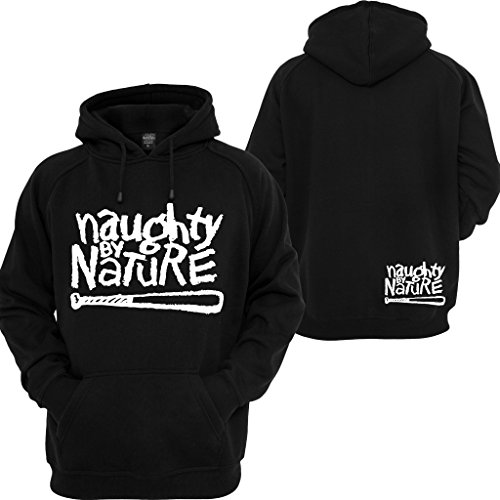 Dmc Polyester (Naughty By Nature Pullover Hoodie RUN DMC 2PAC Music East Coast Rappers Sweatshirt)