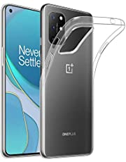 32nd Clear Gel Series - Transparent TPU Silicone Clear Gel Case Cover for OnePlus 8T, Crystal Gel Ultra Thin Case - Clear