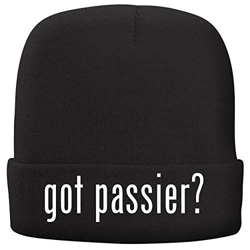 BH Cool Designs got Passier? - Adult Comfortable Fleece Lined Beanie, Black