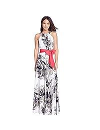 Changeshopping Women Summer Boho Long Evening Party Maxi Dress