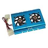 Akust 3.5 Inch Hard Disk Drive HDD Cooling Fan Blue