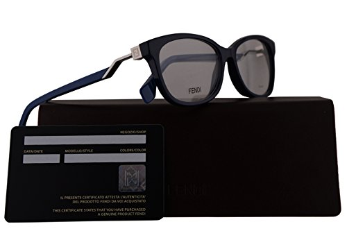 Fendi FF0233 Eyeglasses 54-15-140 Blue w/Demo Clear 54mm Lens PJP FF - Fendi Spectacle Frames
