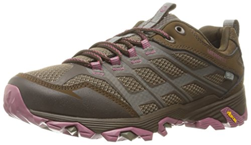 Merrell Women's Moab FST Waterproof Hiking Shoe, Boulder, 9 M US by Merrell