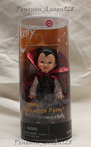 Tommy Halloween Party Li'l Friend of Kelly Tommy As a Vampire Black Vest Target 2001 -