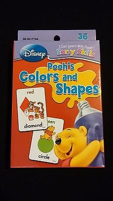 Disney Winnie The Pooh Bear Colors & Shapes
