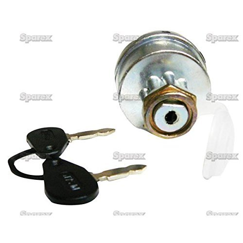 Massey-Ferguson Tractor Ignition Key Switch w/ Pre-Heat - fits many MF Diesel with cold start Sparex