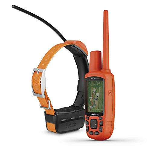 Garmin Astro 900 Dog Tracking Bundle, GPS Sporting Dog Tracking for Up to 20 Dogs, Includes Handheld and Dog Device (Renewed)