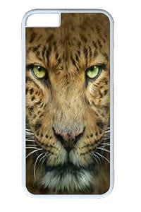 Big Face Leopard Polycarbonate Hard For Samsung Galaxy S5 Mini Case Cover inch White