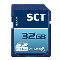 32GB SD HC SDHC Clase 10 SCT Tarjeta de memoria profesional de alta velocidad SDHC 64G (32 Gigabyte) Tarjeta de memoria para Canon Powershot SX500 IS SX160 S110 SX50 HS G15 A3500 A1400 ELPH 130 N 115 IS A2500 SX270 SX280 con formato personalizado