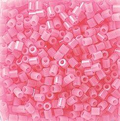 Perler Beads 1,000 Count-Glow Pink