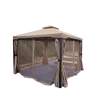 Amazon Com Sonoma Outdoor Iron Gazebo Canopy W Net