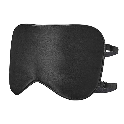 Paitree Sleep Mask for Woman & Man, Magnetic Therapy Eye Mask for Sleeping Eye Covers Sleep Blindfold, Super Soft - 3D Contoured Eye Space -Professionally - (BlackX2) (Black 2 ()