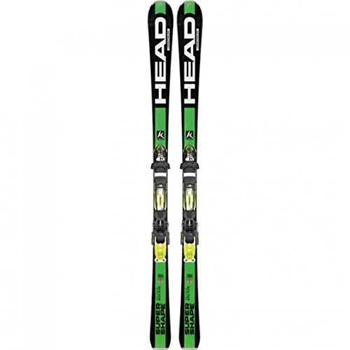 Head - Skis Isupershape Magnum Homme + Fixations Prx 12 - Homme - Taille ?170 - Vert