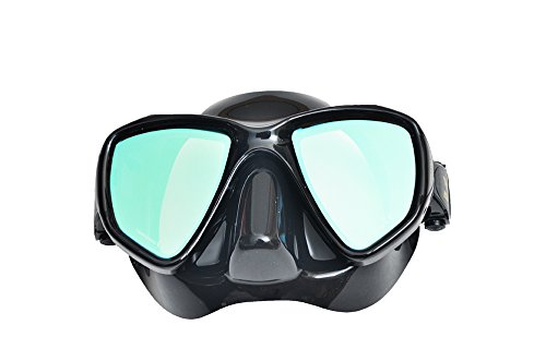 IST Scuba Diving Mask Proteus Mirrored Lens MP201BSM