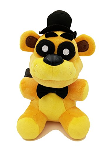 Party master Golden Freddy Bear Exclusive Collectible 7inch Plush Toy Funny Gift For Kids Birthday