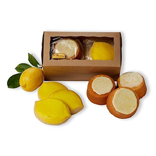 Mini Lemon Cakes & Cookies - Gift Box