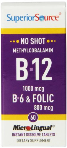 Superior Source Methylcobalamin Vitamin Tablets product image