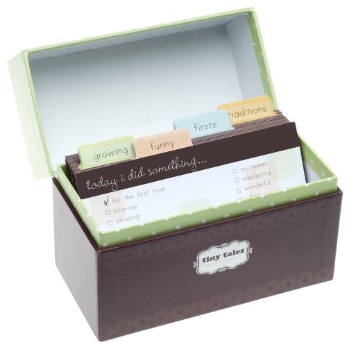 Tiny Tales Keepsake Baby Memory Kit Box ()