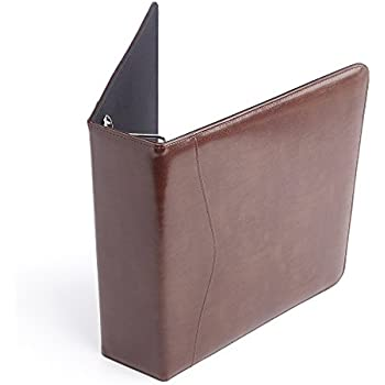 amazon com royce leather executive one and a half inch ring binder