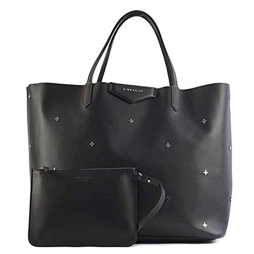 (ジバンシー) GIVENCHY SHOULDER BAG トートバッグ #BB05310 683 001 BLACK 並行輸入品 B078NJ55V3