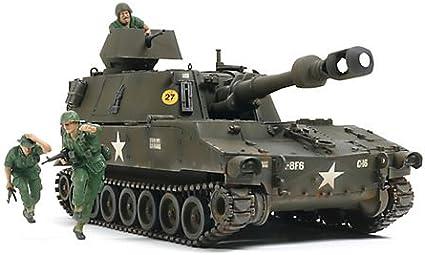 VOLKS 1//35 US Self-Propelled Howitzer M109 VIETNAM WAR Plastic Scale Model Hobby