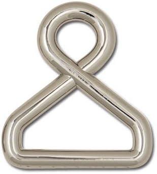 "Twist Strap Ring 1/"" Nickel Plate 11405-03"