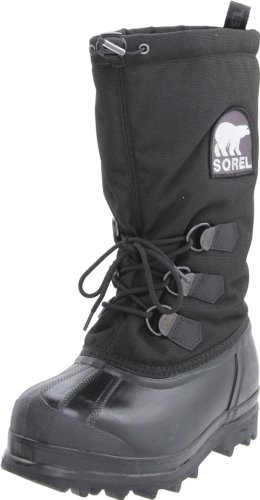 Sorel Women's Glacier NL1042 Boot,Black,9 M US