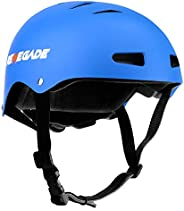 Hurtle Adjustable Sports Safety Helmet - Dual Certified CPSC Multi-Sport Impact Protection Helmet for Children
