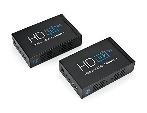 Sewell Direct SW-29969-PRO HD-Link HDMI Over Single Cat5/Cat6 Extender, 1080p 330-Feet