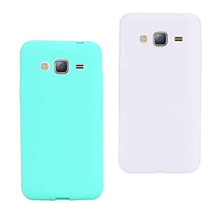 CoverTpu 2X Funda Samsung Galaxy Grand Prime Silicona Carcasa Galaxy G530/Grand Prime Suave Flexible TPU Gel Ultra Fina Delgado Case Móvil Cubierta ...