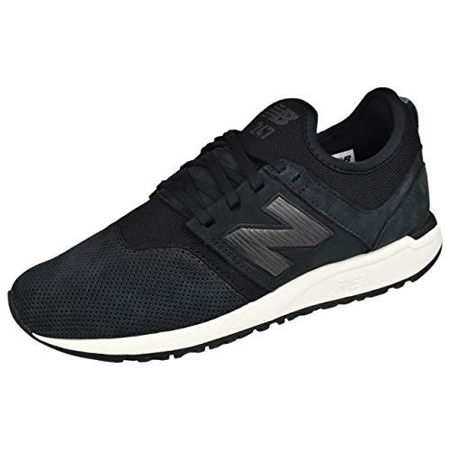 (New Balance Women's WRL247WN Running Shoes,black,10 D US )